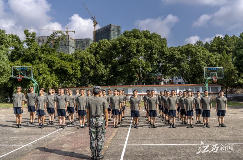 吉安吉州区:预定新兵入伍役前训练忙